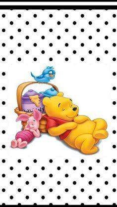 Kubuś Puchatek Winnie The Pooh Friends, Disney Winnie The Pooh, Disney Magic, Disney Art, Disney Stuff, Heart Wallpaper, Iphone Wallpaper, Seashell Tattoos, Disney Background