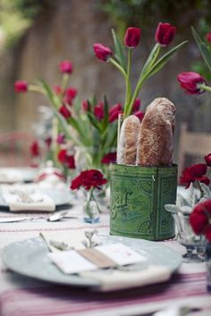 French-Inspired Wedding Table