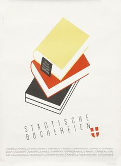 Fabigan, Hans poster: Stadtische Buchereien