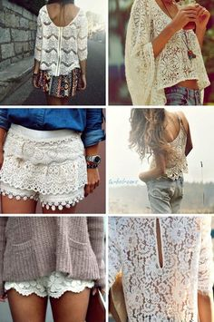 i have an obsession with lace