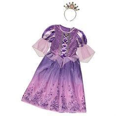 Disney Tähkäpää naamiaisasu mekko