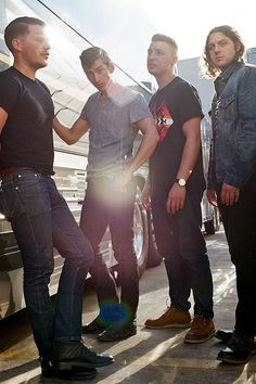 arctic monkeys! I love them more than anything, however they kinda look like the greasers lol