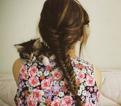 cat, floral, and fishtail? is this me?