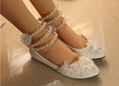 Gorgeous Handmade Wedding Shoes Lace Bridal Shoes Pearl Bridal Shoes Bridesmaid Shoes Beaded Lace Shoes Crystal Lace Shoes Absolutely stunning Vintage romantic touch Perfect for Brides Bridesmaids and any occasions Converse Wedding Shoes, White Wedding Shoes, Wedding Shoes Heels, Bride Shoes, Lace Wedding, Ballet Wedding, White Bridal, Trendy Wedding, Floral Wedding