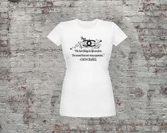 COCO Chanel Quote tshirt by TheGoldenBox1 on Etsy, $32.00
