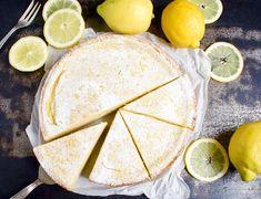 Recipe by: Ingredients FOR THE CRUST: all-purpose flour raw cane sugar tsp baking powder margarine, room temp. Raw Cane Sugar, Vegan Dessert Recipes, Vegan Baking, Vegan Lifestyle, Lemon, Ethnic Recipes, Sweet, Purpose, Vanilla