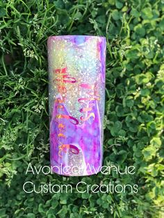 This beautiful tumbler can be personalized with your name. Disclaimer: this is a handmade item and there may be stray glitter Ashley Lewis, Mermaid Kids, Kids Tumbler, Tumbler Photos, Glitter Art, Handmade Items, Handmade Gifts, Voss Bottle, To My Daughter