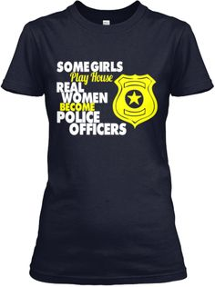 Real Women Become Police Officers
