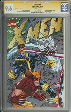 X-MEN #1 CGC 9.6 WHITE PAGES COLLECTORS EDITION @ niftywarehouse.com #NiftyWarehouse #Xmen #Marvel #X-Men #Comics #Geek #ComicBooks