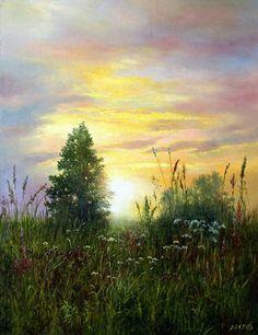 Картины (живопись) : Травы, травы.... Автор Сергей Владимирович Дорофеев