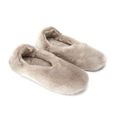 Faux Fur Cozy Slippers | The White Company US