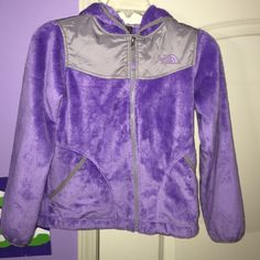 Kids North Face Jacket A purple 10/12 girls North Face Jacket. Like new Condition. The North Face Jackets & Coats