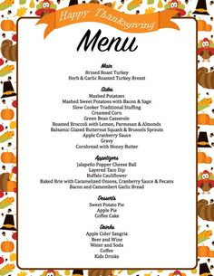 2017 Thanksgiving Planner – Thanksgiving Menu – Meal Planner – Planning Checklist – Grocery List – Guest List – Checklist – Recipes – Famous Last Words Planer 2017, Thanksgiving Appetizers, Hosting Thanksgiving, Thanksgiving Menu Planner, Happy Thanksgiving, Thanksgiving Parties, Italian Thanksgiving, Thanksgiving Traditions, Thanksgiving Sides