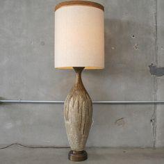 Large Mid Century Table Lamp – UrbanAmericana