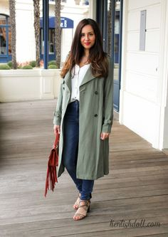 The long trench-coat