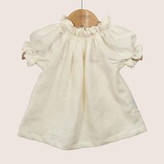 Twee & co Organic Boutique's Poppet Blouse is as sweet as its name. A lovely easy to wear item for a sunny day. Made from pure organic cream linen. Shop organic baby and children's clothes. Organic Baby, Seaside, Cold Shoulder Dress, Pure Products, Boutique, Blouse, Clothing, How To Wear, Shopping