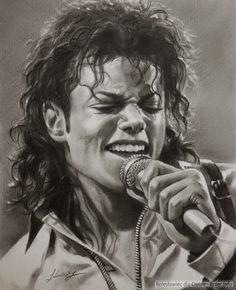 Michael Jackson….Pencil art by Dumage