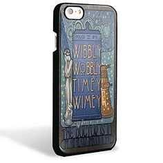 Dr Who Tardis Cover Book for Iphone and Samsung Galaxy Case (Iphone 6/6s Black)