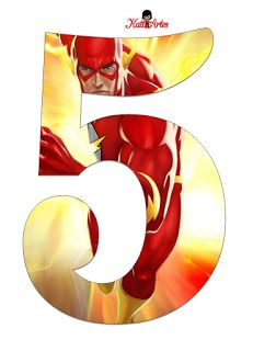Bolo Flash, Flash Cake, Birthday Party Giveaways, Birthday Party Themes, Birthday Numbers, 5th Birthday, Sonic Party, Flash Barry Allen, The Flash Season