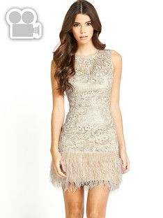lipsy-lace-and-feather-shift-dress