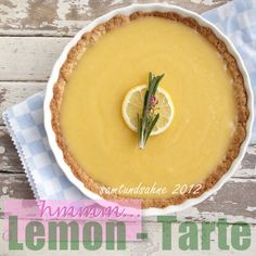 Lemontarte mit Rosmarin