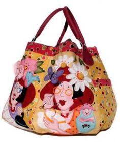 Flower Girls Bag Pattern by Bronwyn Hayes