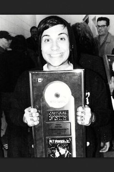 dude, I'd be grinning ear to ear if I had got this too X3 but Frank Iero's grin is much cuter X3