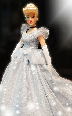The Most Beautiful Cinderella Doll Ever by Tonner Doll.  She's certainly gorgeous on my shelf.