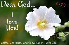 I love my God!!!
