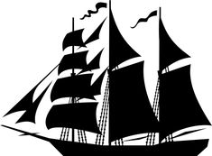 Ship Silhouette, Sailing Ships, Sailing Boat, Beach Cards, Boat Art, Water Life, Scroll Saw Patterns, Wood Tools, Laser Cut Wood