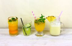 Drinks para variar o cardápio, e se divertir fazendo!  Você já conhece o Casa&Cozinha ? Ele é o site-irmão do dcoracao.com , com conteúdo...