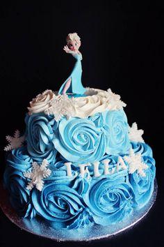 Frozen Cake / Gateau Reine des Neiges