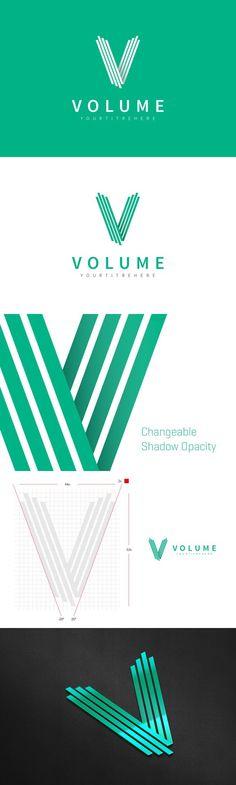 """""""V"""" Letter Logo Template"""