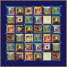 """HUMPTY DUMPTY - 66"""" - Quilt-Addicts Precut Patchwork Quilt Kit or Finished Quilt Double size on Etsy, $136.09"""