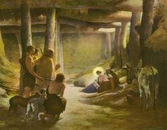 Arrival of the Shepherds Henri Lerolle