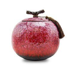 Sakura Ceramic Cremation Urn - Large