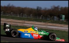F1 test Hakkinen Benetton