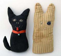 sock cat - Dig Antiques