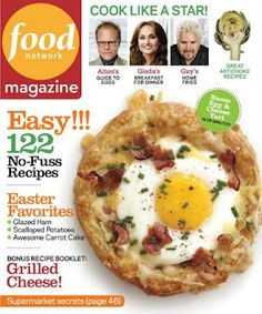 The chopped cookbook by food network kitchen only seeing chicken in food network magazine usa april 2012 grab amazing free stuff at freebiemaster forumfinder Image collections