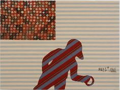 Get him if/while you can...probably the hottest young artist on the scene...Sanford Biggers defies boxing him in...sculpture, painting, video, quilts...currently at MassMoca...just finished at Brooklyn Museum (solo show)....check him out....