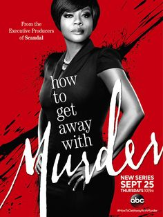 """""""How To Get Away With Murder(ABC)"""" Proves Viola Davis' versatility. The lead role seems to be tailored to her, if you never saw her film work. Add an Emmy to her stash. She had me stressed out in the first five minutes of the pilot episode. Well cast, and roller coaster twists all over the place. You thought Scandal was good? Tune into this one... but you have to be a little amorale to get this..."""