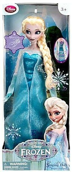 Elsa Singing and Light Up Doll - Disney Store