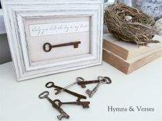 Easy Skeleton Key Art - Only You Hold the Key to My Heart