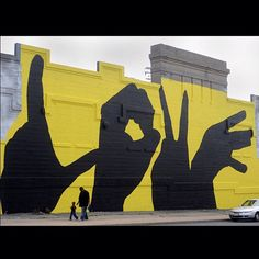 This Love mural near the intersection of E. North Avenue and Gay street in East Baltimore is a favorite for photographers.