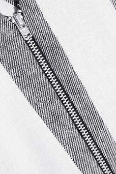 Paper London - Sunflower Cutout Striped Twill Top - Light gray - UK