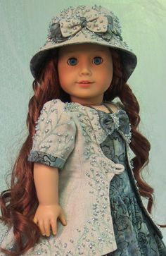 MHD Designs - Frous Frous - Fashion Pattern for 18 Inch American Girl Dolls