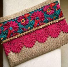 Floral Boho Clutch, bohemian clutch, gift for her, ethnic bag, women handbag, clutch purse
