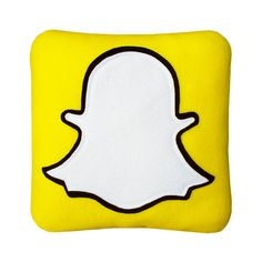 Pin for Later: The Best Gifts For Millennials Who Love the Internet — Aka All of Them  Snapchat Pillow ($29)
