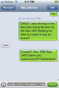 Funny Text! That's What You Get For Speeding!