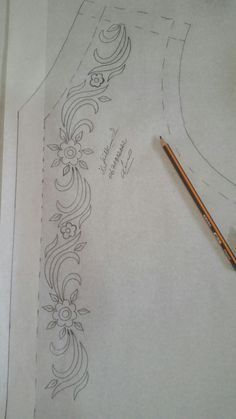 1 million+ Stunning Free Images to Use Anywhere Border Embroidery Designs, Bead Embroidery Patterns, Embroidery Stitches, Machine Embroidery, Sewing Patterns, Abstract Embroidery, Hand Embroidery Flowers, Hand Work Embroidery, Ribbon Embroidery